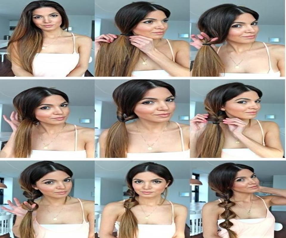 Diy Hairstyles diy hairstyles french braid tutorial half up side french braid Diy Easy Hairstyles Tutorials Screenshot