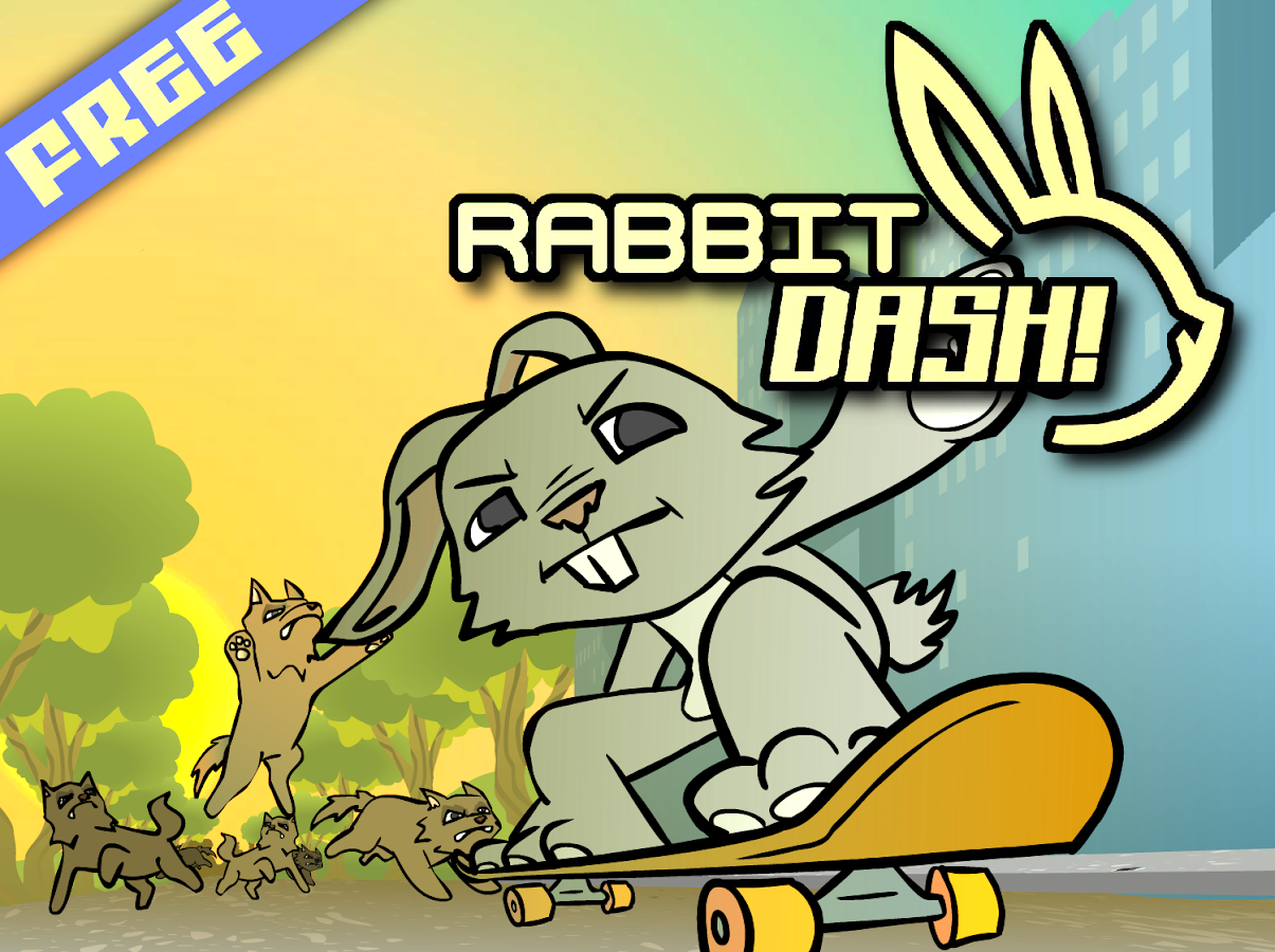 Rabbit Dash!- screenshot