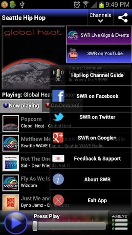 Screenshots for Seattle Wave Radio