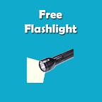 Free Flashlight (LED On / Off)