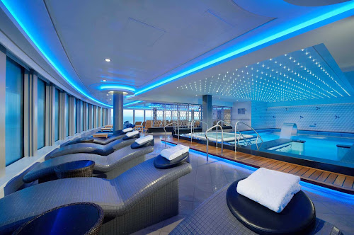 The 23,000-square-foot Spa Thermal Suite and fitness area on Norwegian Breakaway is among the choices available to consumers looking for a cruise that promotes wellness.