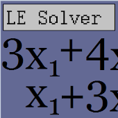 Linear Equations Solver