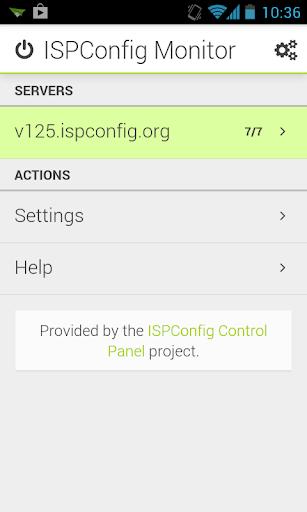 ISPConfig Monitor