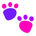 Educational Kids Animal Tracks logo