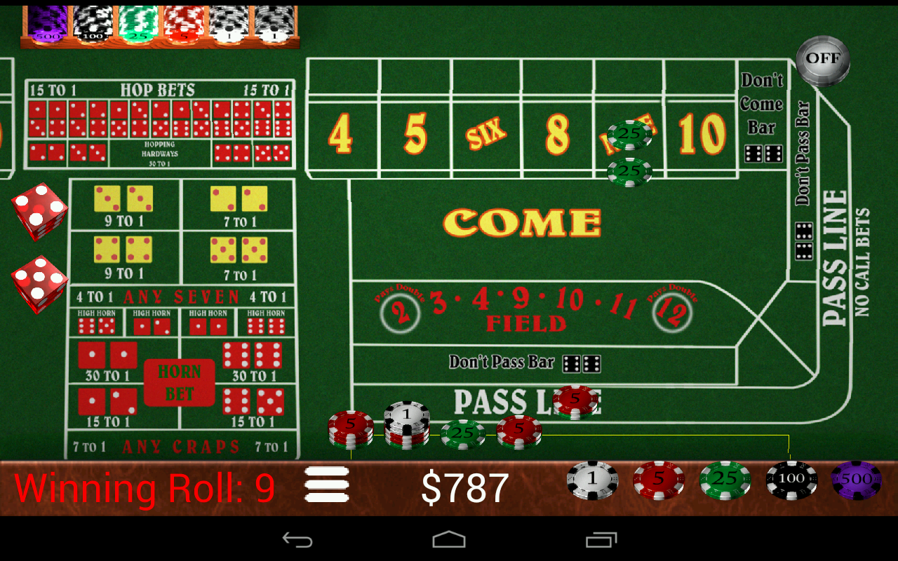 Craps Trainer- screenshot