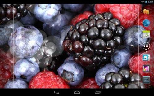水果及水動態壁紙
