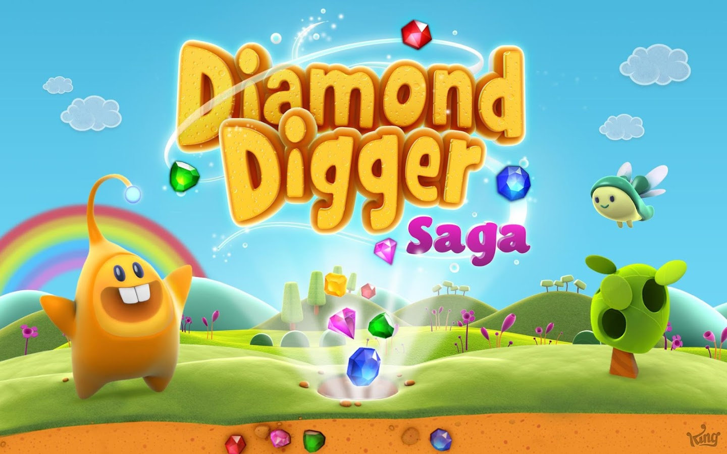 Diamond Digger Saga: captura de pantalla