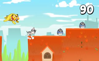 Screenshot of Angelina the Running Cat