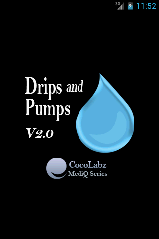 Drips and Pumps- screenshot