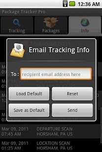 Package Tracker Pro - screenshot thumbnail