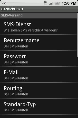 Gschickt PRO (Messaging) - screenshot