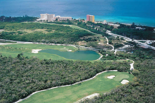 Cozumel-Campo-de-Golf2 - Cozumel Country Club, on Cozumel's north shore, features 18 holes of golf designed by the Nicklaus Design Group. Play it as part of a group cruise with fellow golfers.