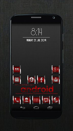 CR2 Red - Icon Pack