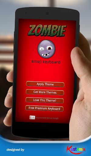 Zombie Emoji Keyboard
