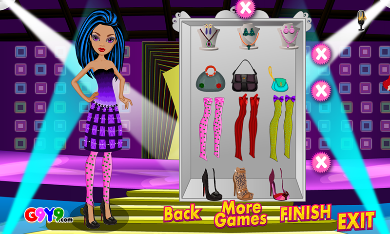 Night Out Girl Dress up - screenshot