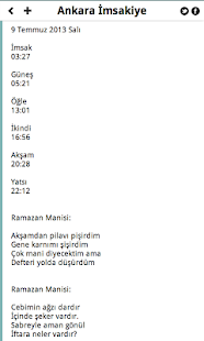 Ankara İmsakiye - screenshot thumbnail