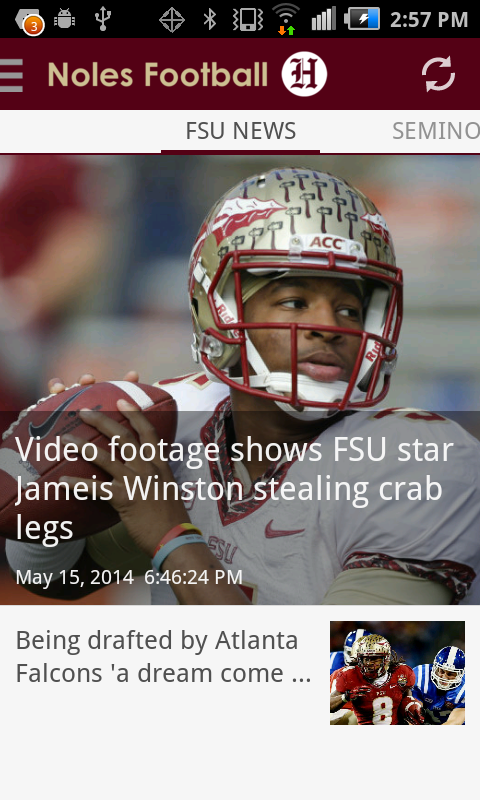 Noles Football- screenshot