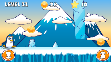 Screenshot of Penguin Run:A Frozen Adventure