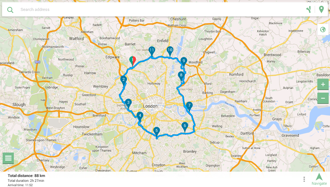 Mysmartroute route planner android apps on google play mysmartroute route planner screenshot gumiabroncs Choice Image
