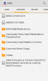 EMS Pocket Drug Guide TR - screenshot thumbnail