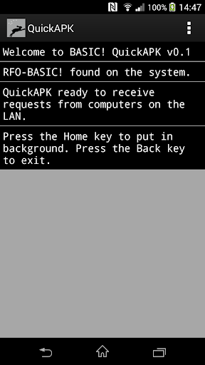 BASIC Quick APK WiFi