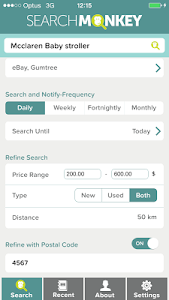 Search Monkey Personal Shopper screenshot 1