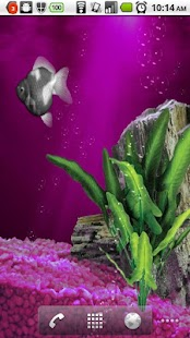 Aquarium Goldfish Live Walpapr - screenshot thumbnail