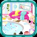 Clean up spa salon icon