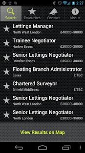 LCA Estate Agency Job Search - screenshot thumbnail