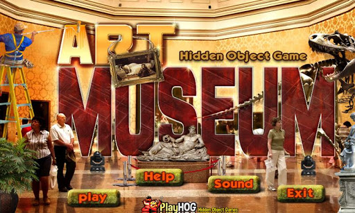 Art Museum Free Hidden Objects