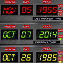 Time Circuits Dashboard Clock icon