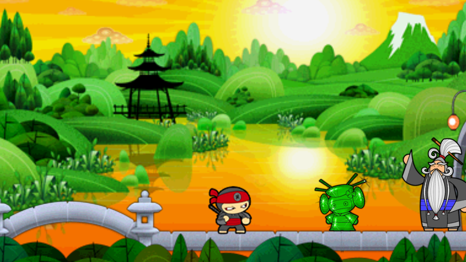 Chop Chop Ninja - screenshot
