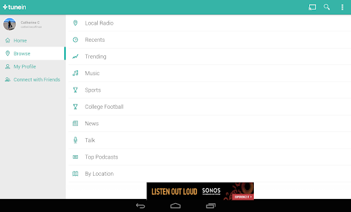 TuneIn Radio - Radio & Music Screenshot 20