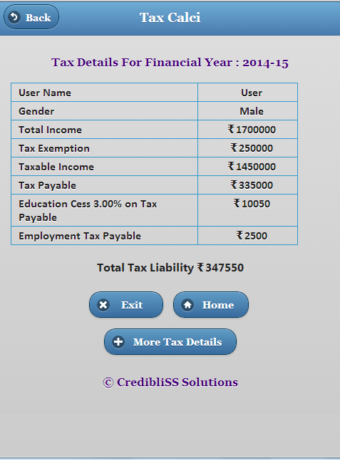 Income Tax Calculator India Android Apps on Google Play – Income Tax Calculator