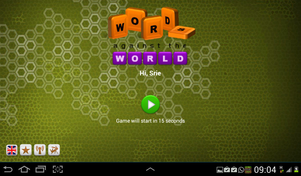 Words against the World- screenshot