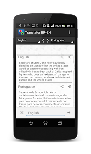Free Download Brazilian-English translator APK for Android