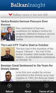 Balkan Insight Light- screenshot thumbnail
