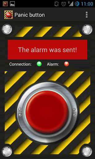 Panic button screenshot