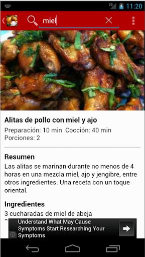 【免費生活App】Recetas De Pollo-APP點子