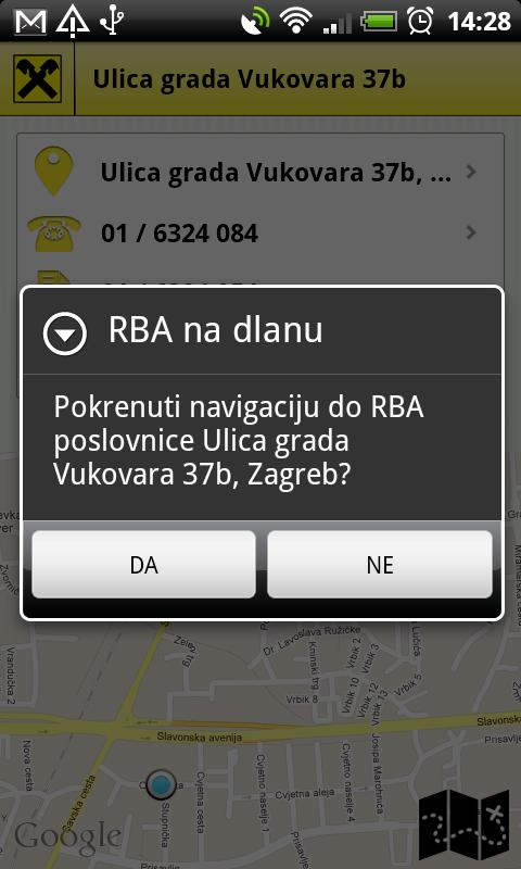 RBA na dlanu- screenshot