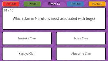Screenshot of Anime Trivia