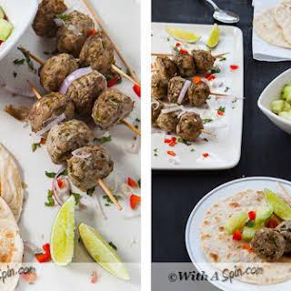 Kafta Mishwiyyeh – Lebanese Meatballs.