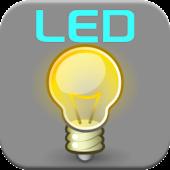 LED Torch Flashlight + Widget
