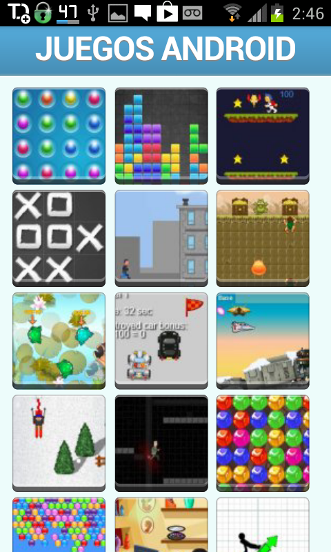 Juegos Android - screenshot
