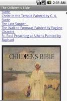 Screenshot of The Children Bible