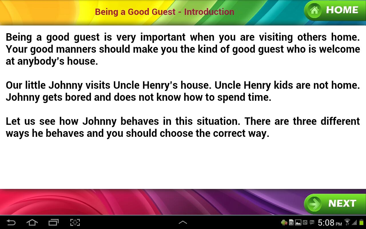essay on good manners for children  www gxart orggood manners for kids android apps on google playgood manners for kids screenshot