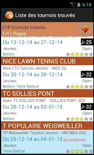 Les tournois Tennis Solutions - náhled