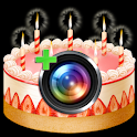 Birthday Camera+ logo