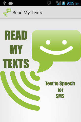 Read My Texts - Speech for SMS