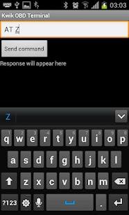 Kwik OBD Terminal- screenshot thumbnail